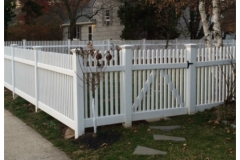 Custom Wood Fencing - Rye