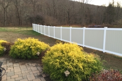 PVC Privacy Fence - Garrison